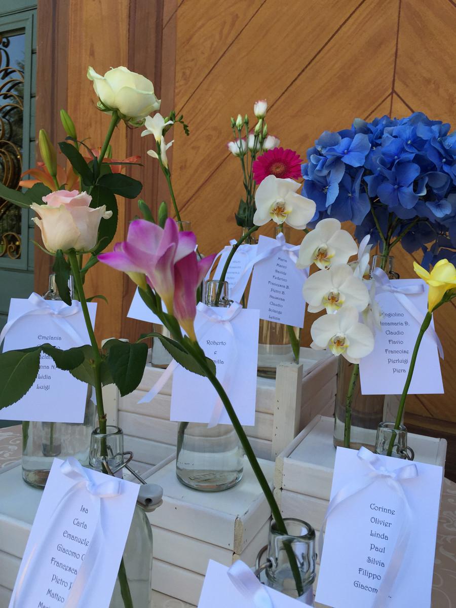 tableau mariage fiori wedding planner