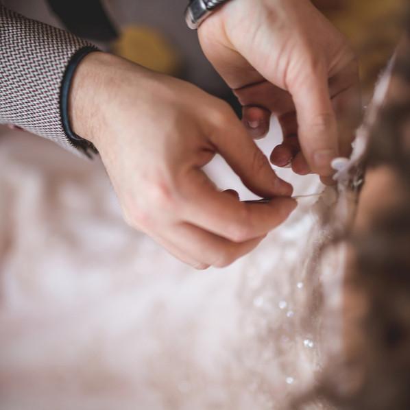 Vestire la sposa