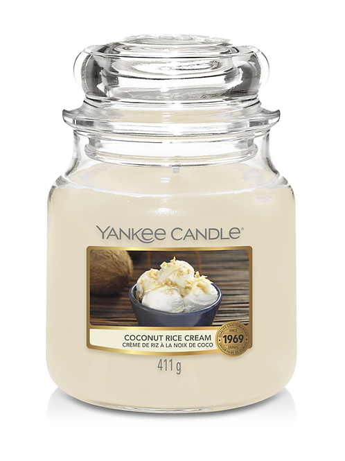 COCONUT RICE CREAM - Yankee Candle - Giara Media