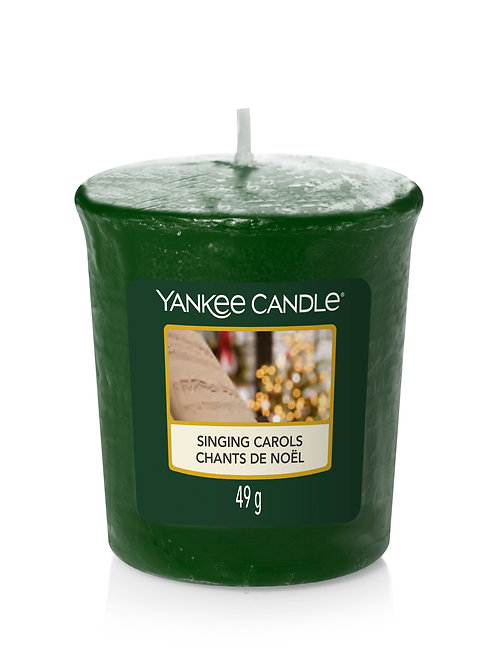 Singing Carols - Yankee Candle - Votivo