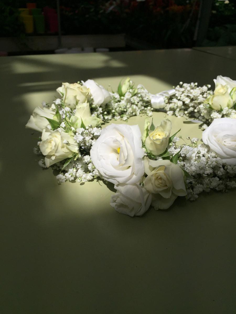 coroncina di fiori sposa brescia manerbio