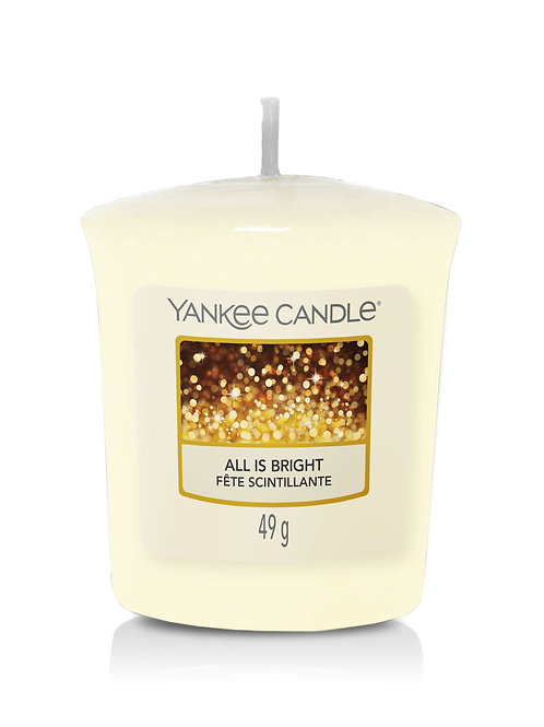 All is Bright - Yankee Candle - Votivo