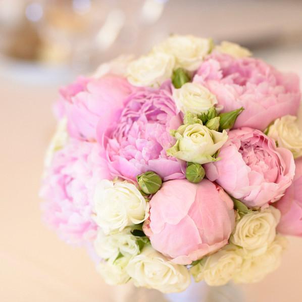 bouquet sposa peonie brescia manerbio