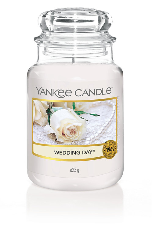 Wedding Day - Yankee candle - Giara Grande