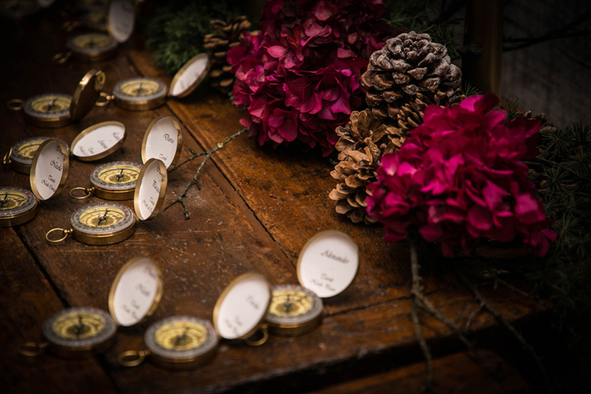 tableau mariage bussole