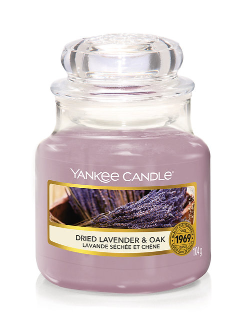 Dried Lavender & Oak - Yankee Candle - Giara piccola