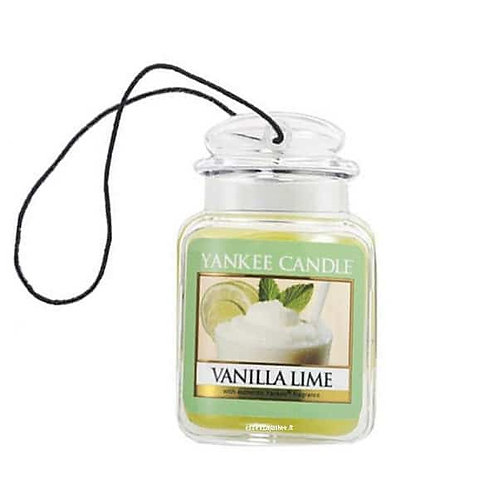 VANILLA LIME Car Jar Yankee Candle