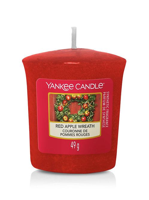 Red Apple Wreath - Yankee Candle - Votivo