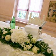 centrotavola matrimonio bianco brescia