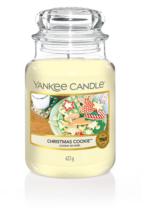 Christmas Cookie - Yankee candle - Giara Grande