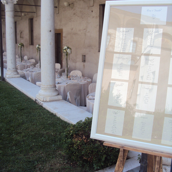 tableau mariage classico brescia manerbio
