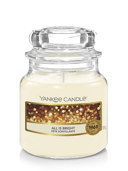 All is Bright - Yankee Candle - Giara piccola