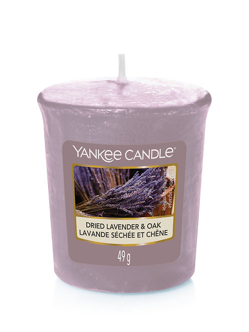 Dried Lavender & Oak - Yankee Candle - Votivo