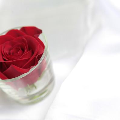 confettata bianca e rossa