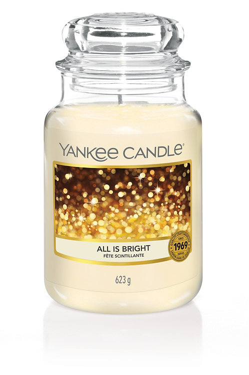 All is Bright - Yankee candle - Giara Grande