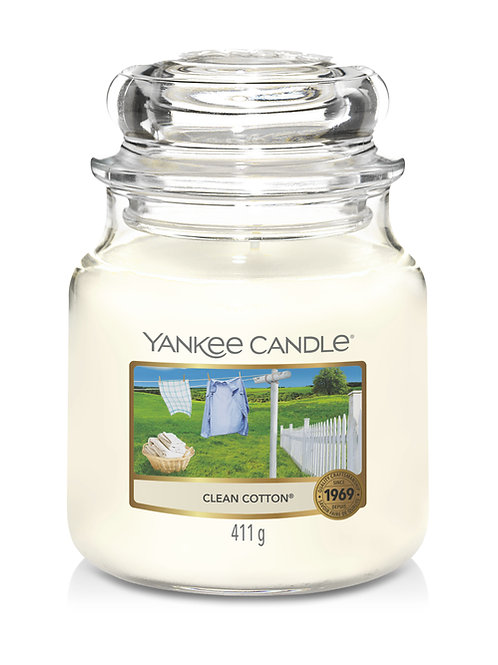 Clean Cotton - Yankee Candle - Giara media