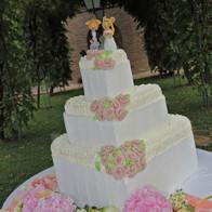 wedding cake cuore