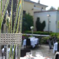 centrotavola vaso vetro alto brescia
