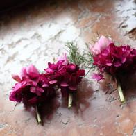 fiore occhiello fuxia wedding planner brescia