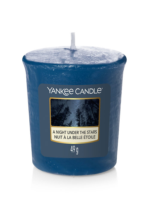 A night under the stars - Yankee Candle - Votivo