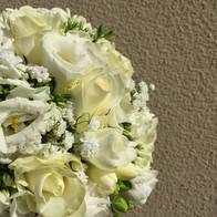 bouquetr sposa tondo bianco