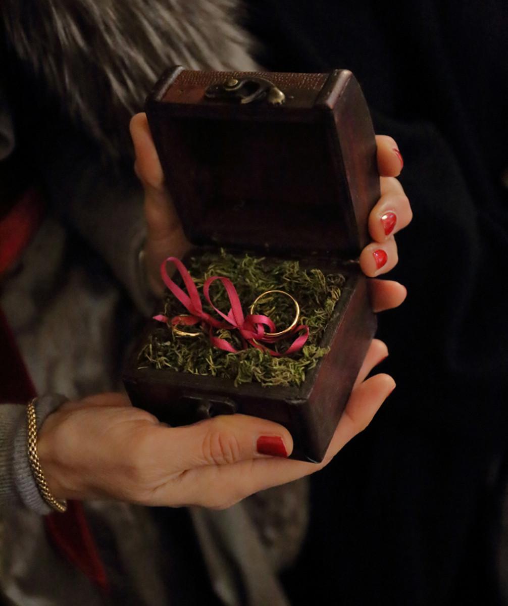 porta fedi wedding planner brescia