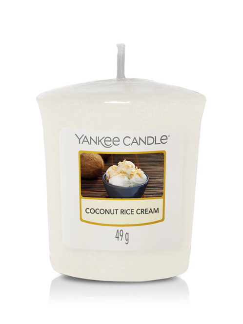 COCONUT RICE CREAM - Yankee Candle - Candela Sampler
