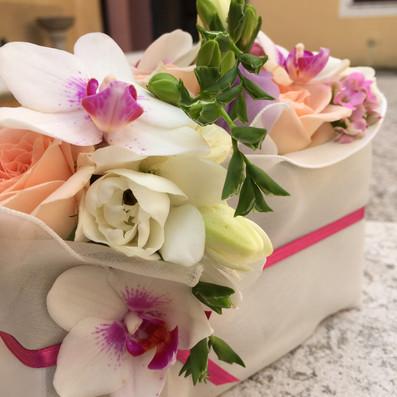 bouquet sposa pochette