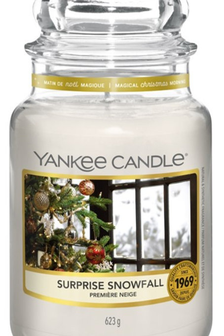 Surprise Snowfall - Yankee candle - Giara Grande