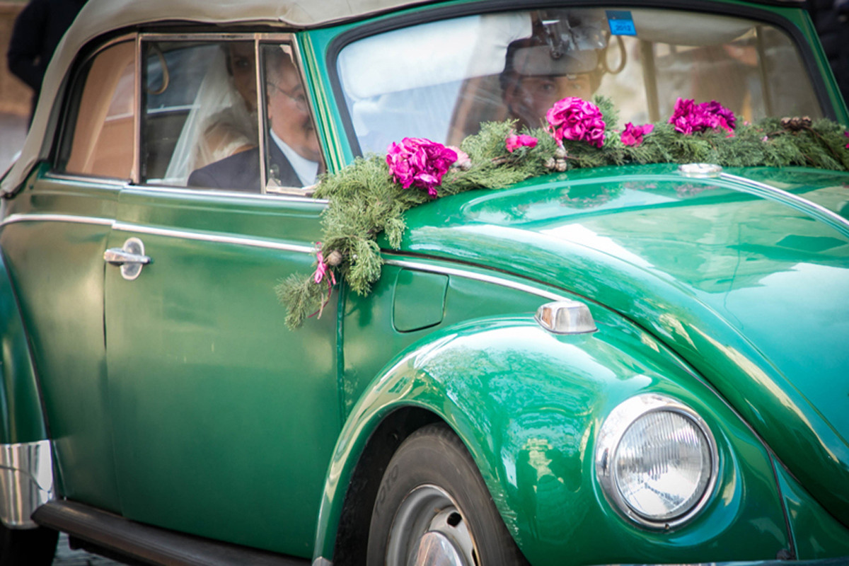 maggiolone wedding