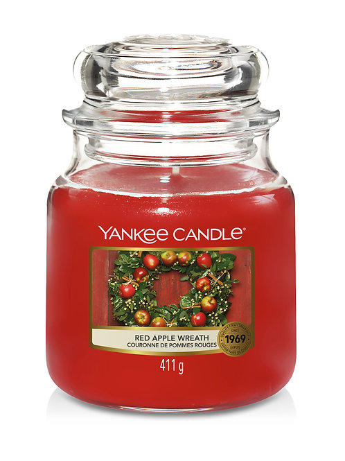 Red Apple Wreath - Yankee Candle - Giara media