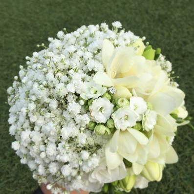 bouquet sposa gypsophila romantico brescia