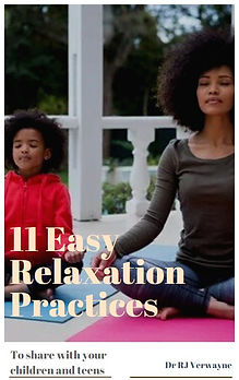 mother daughter yoga therapy ebook- 11 Easy Relaxation Practices