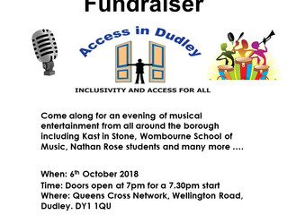 Access in Dudley - A Musical Evening Fundraiser