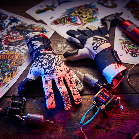 Adidas Tattoo Gloves