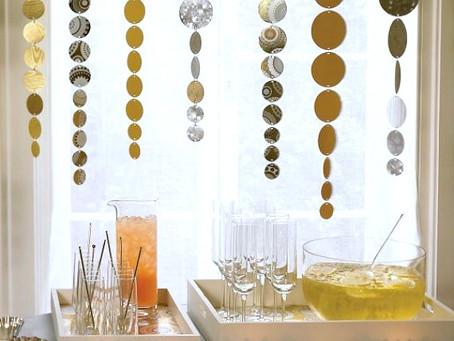 11 ideas para decorar tu hogar en  la celebración de año nuevo