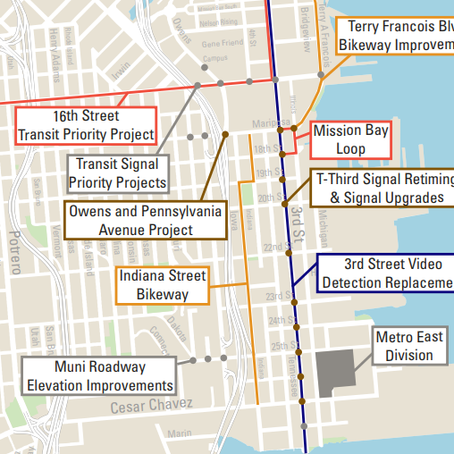 SFMTA Presents 22 Replacement and New Transit Connection Projects
