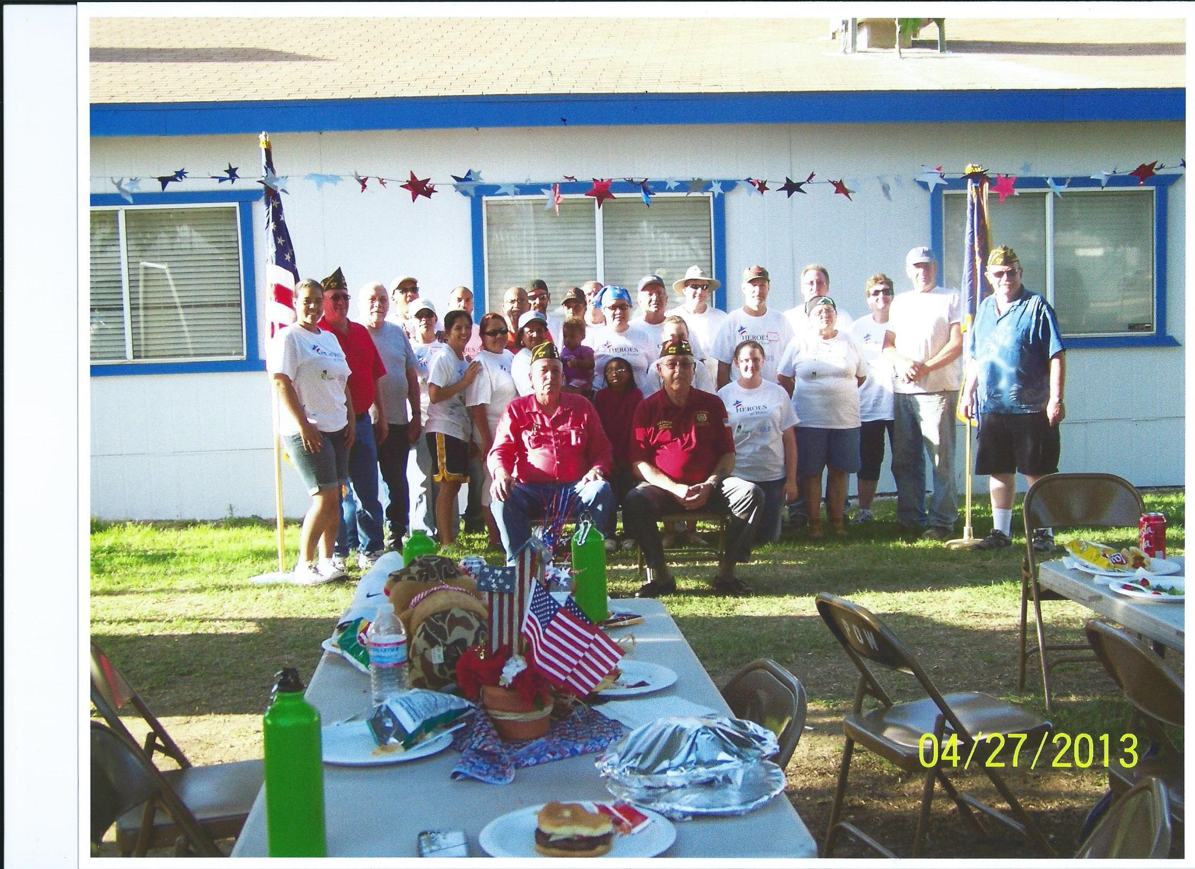 VFW Post 97 group photo
