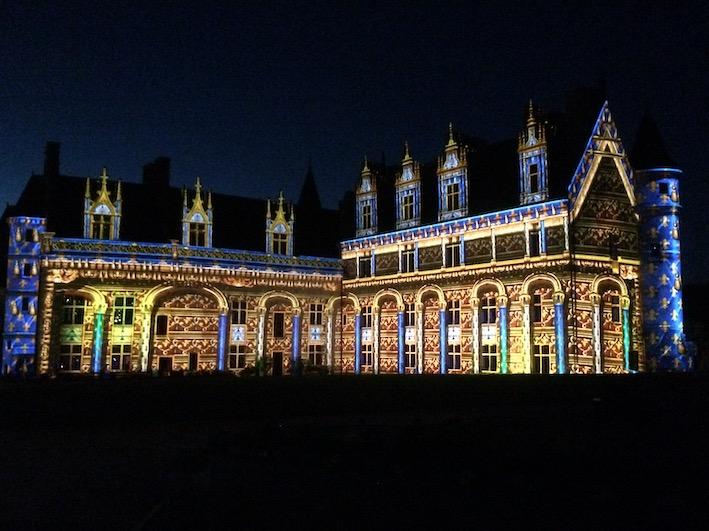 Sons et lumières sur le Château d'Amboise