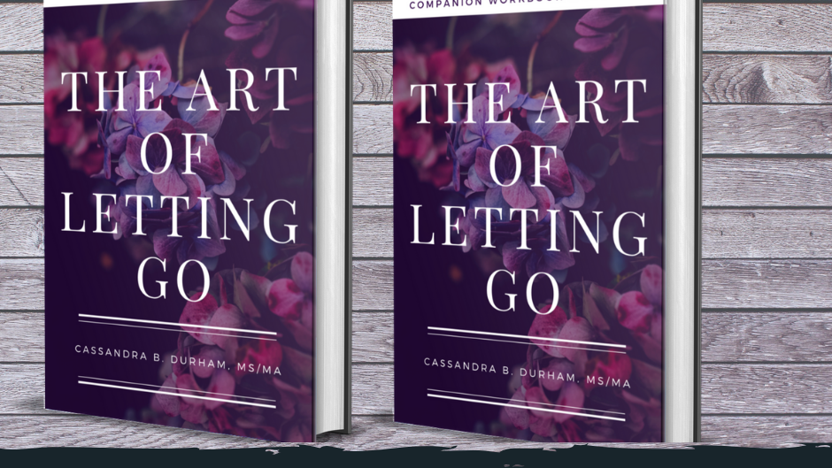 Art of Letting Go Book, Workbook/Journal Set