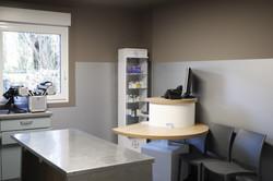Salle de consultation urgence