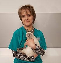Ophélie ASV au Centre vétérinaire Vetagora Dour