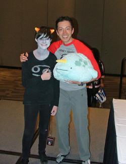 Todd Haberkorn voice actor Comic Con