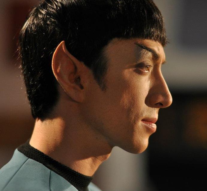 Spock Actor Todd Haberkorn