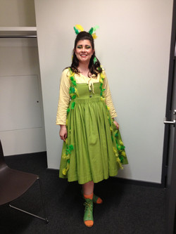 Papagena in The Magic Flute