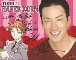 Todd Haberkorn voice actor