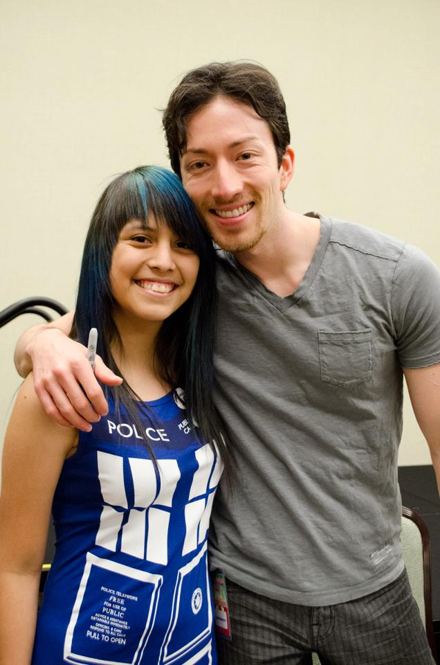 Todd Haberkorn voice actor Comic Con