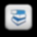 117167-matte-blue-and-white-square-icon-