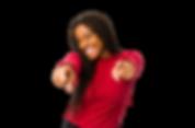 a-mulher-afro-americano-nova-isolou-os-s