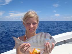 Girls love to fish too!